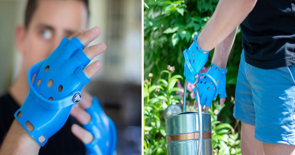 untitled 1 8.jpg?resize=412,232 - An Inventor Made The First Ever 'Crocs Gloves'