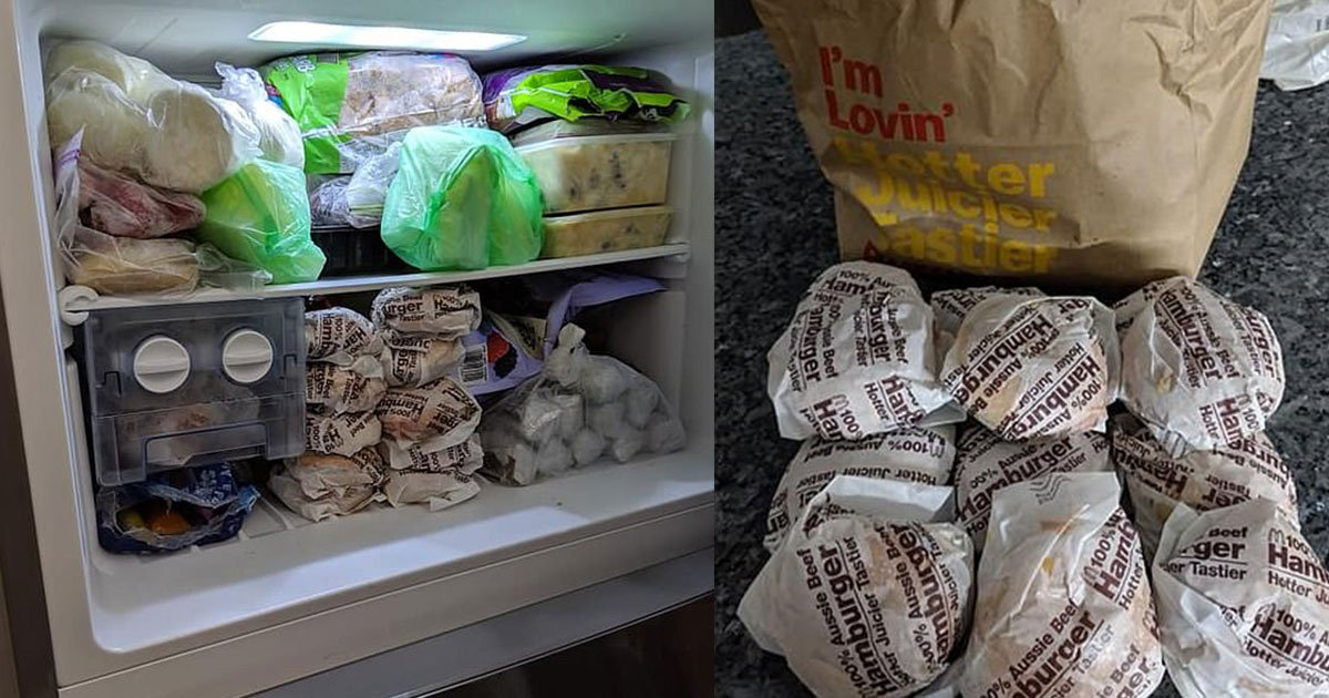 untitled 1 recovered.jpg?resize=300,169 - A Man Shared His Ultimate Hack For Breakfast: Frozen Mcdonald's Burgers