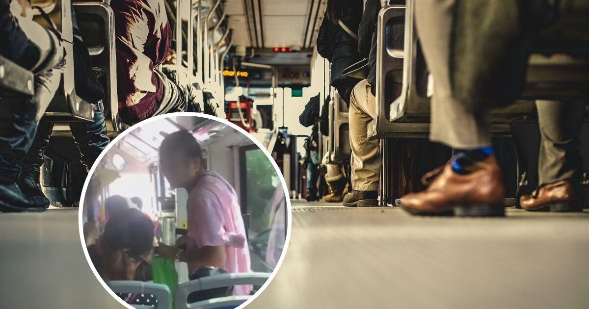 untitled design 34.png?resize=300,169 - Une femme âgée s'est assise sur les genoux d'un garçon dans le bus parce qu'il a refusé de lui céder son siège