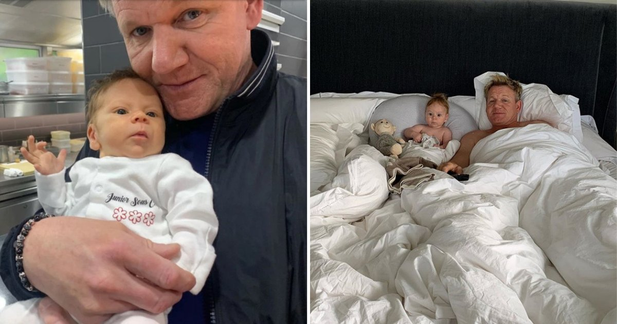 untitled design 45.png?resize=412,232 - Gordon Ramsay's Son Is Only 5 Months Old But Already Has His Father's Angry Looks