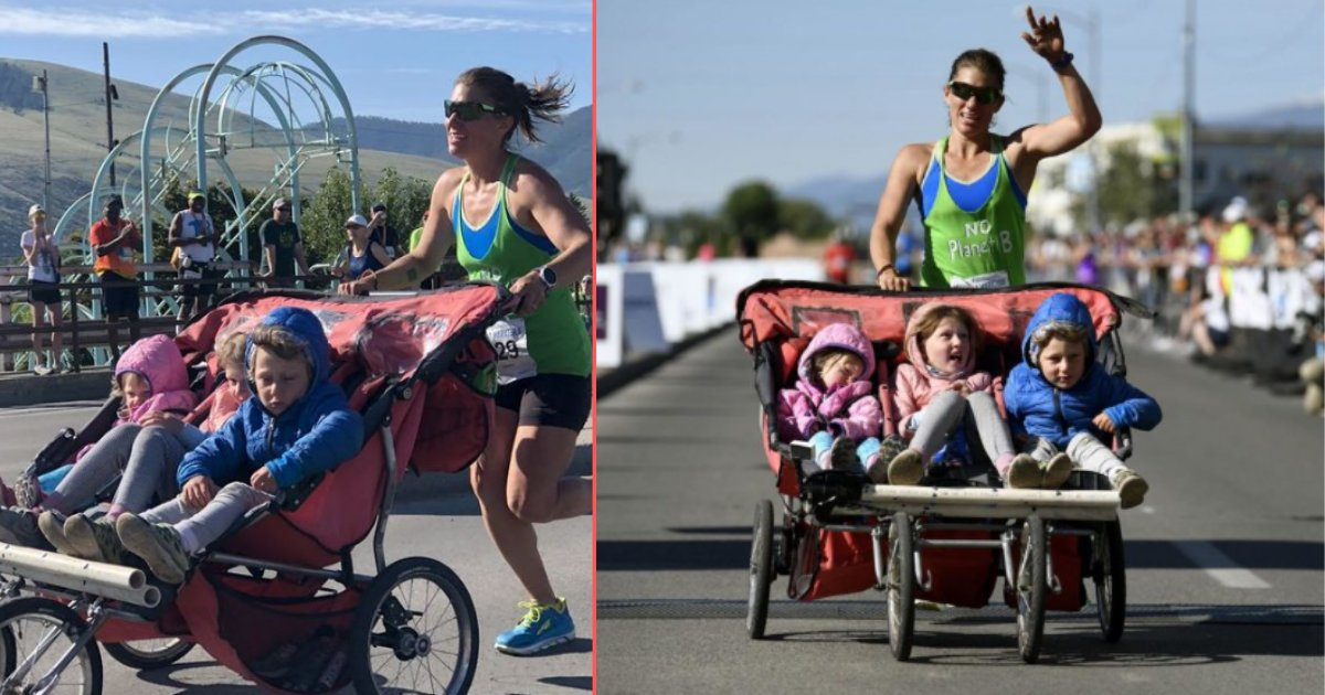 untitled design 7 12.png?resize=412,232 - Cynthia Arnold Ran the 3:11 Marathon with Three Children in a Stroller