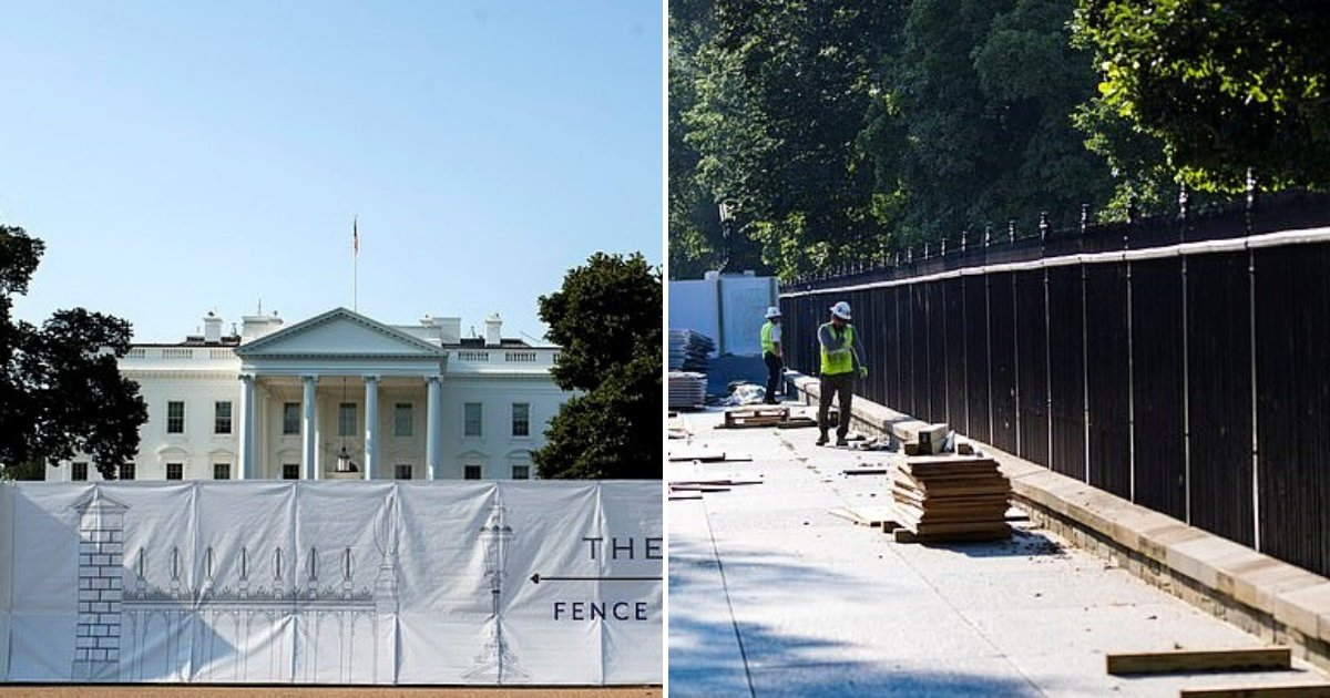 untitled design 79.png?resize=1200,630 - Donald Trump Is Building Another Wall - This Time Around The White House