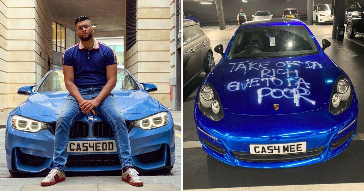 untitled design 95 1.png?resize=1200,630 - Millionaire's $90,000 Porsche Vandalized Only Days After His BMW Got Stolen