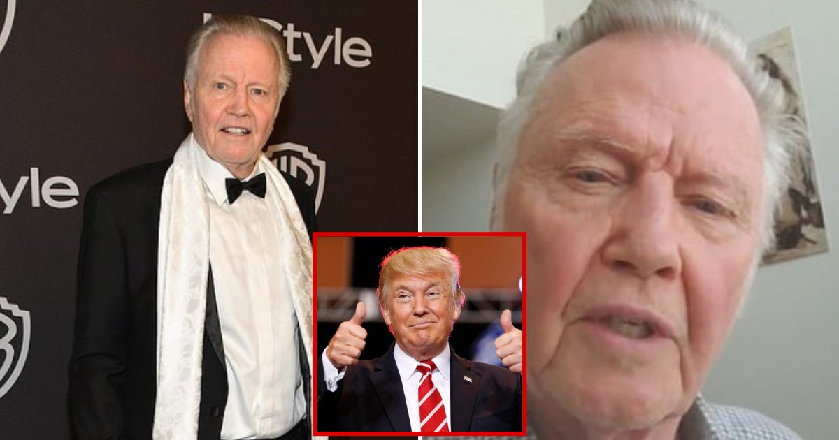 voight5.png?resize=412,232 - Jon Voight, 80, Declares Donald Trump 'The Greatest President Of This Century'