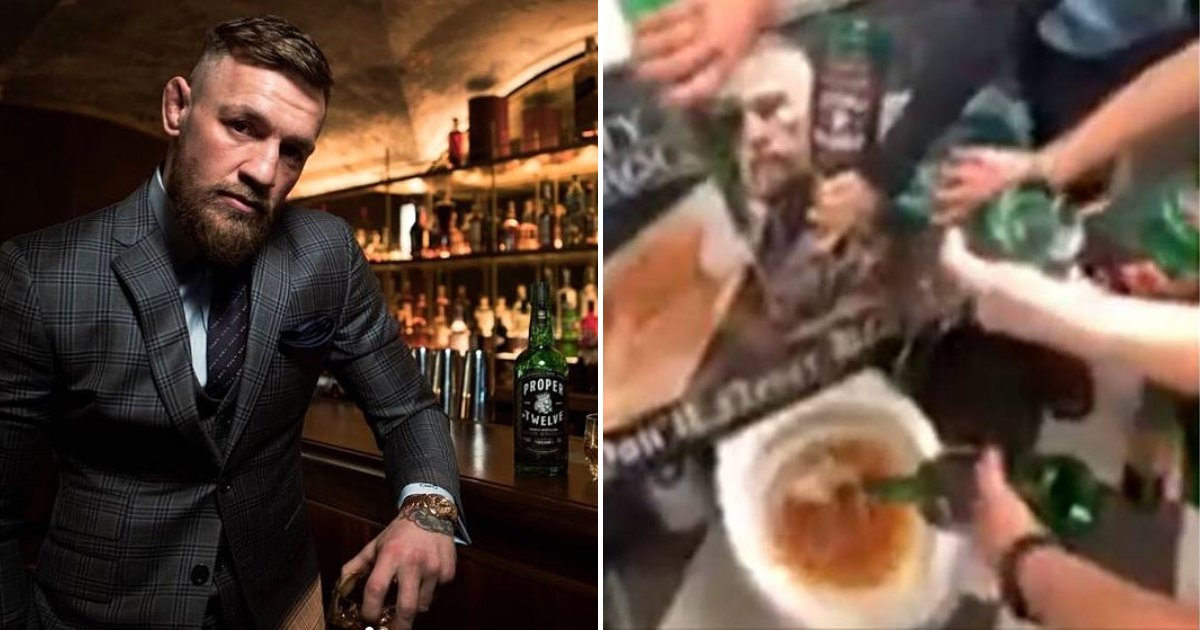 whiskey5.png?resize=412,232 - Bar Blacklists MMA Star Conor McGregor And Pours His Whiskey Down The Toilet