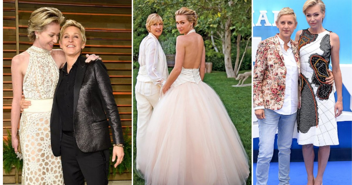 y 1 5.png?resize=412,232 - Ellen DeGeneres And Portia De Rossi Celebrate 11 Years Of A Happy Marriage