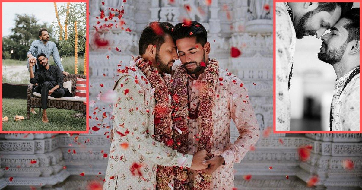 y3.png?resize=300,169 - Malgré les tabous, ils font un mariage homosexuel magnifique dans un temple hindous