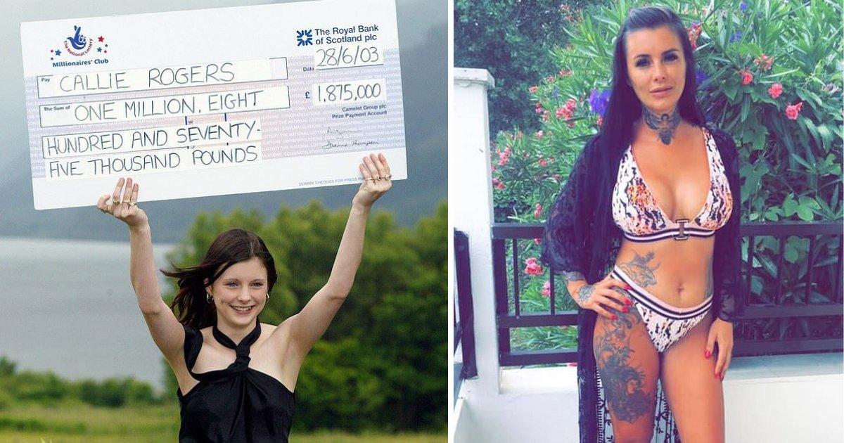 y4 1.png?resize=412,232 - Elle a gagné au loto à l'âge de 16 ans mais n'était pas prête à avoir autant de responsabilités