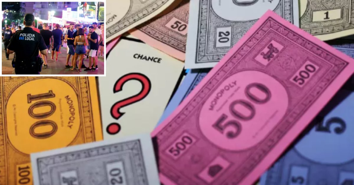 y5 7.png?resize=1200,630 - Irish Teens Arrested For Paying For Booze InA Pub AtMagaluf With Monopoly Money
