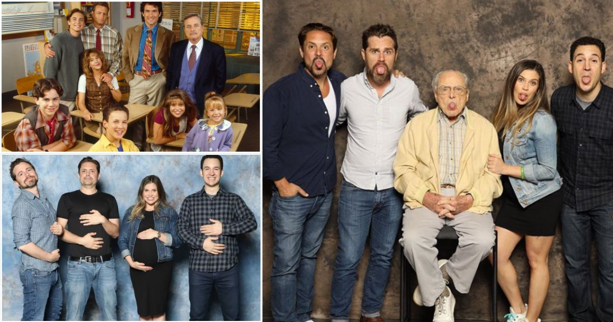 """y7 1.png?resize=412,232 - """"Boy Meets World"""" Cast Has Come Together at Boston Comic-Con Fan Expo with Mr. Feeny"""