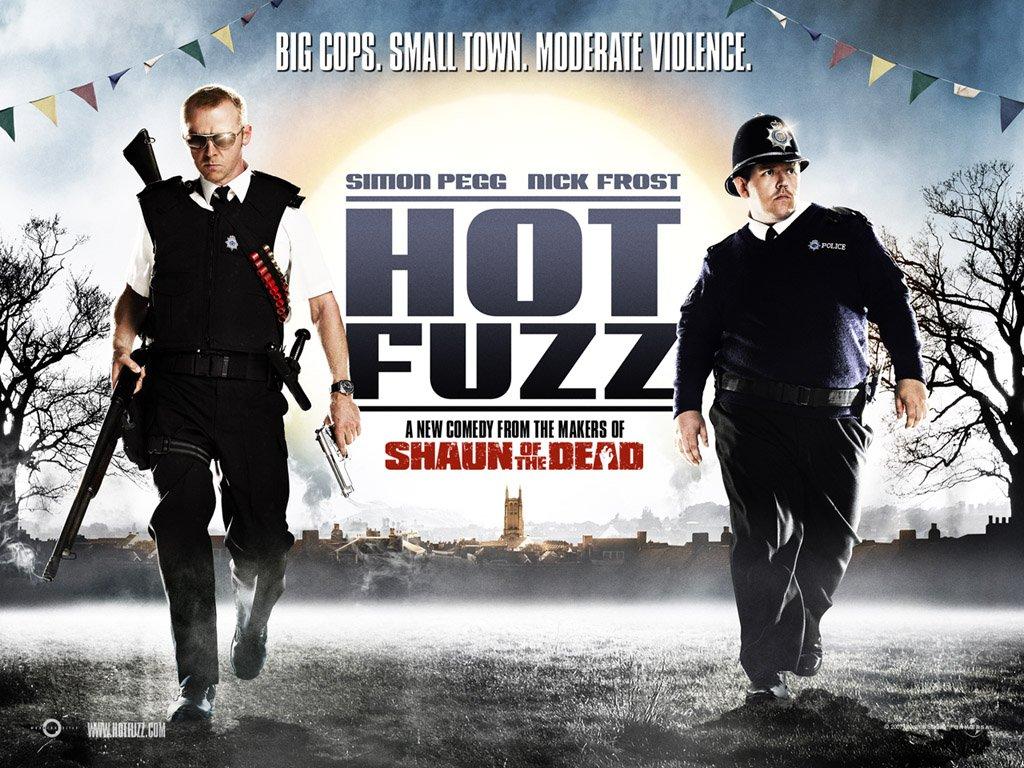 Resultado de imagen de Hot Fuzz: superpolicías película