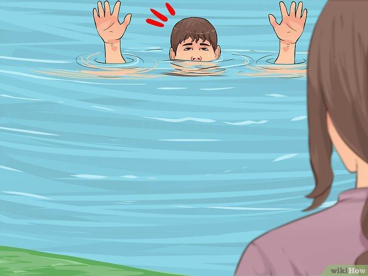 Resultado de imagen de Cómo detectar que una persona seestá ahogando
