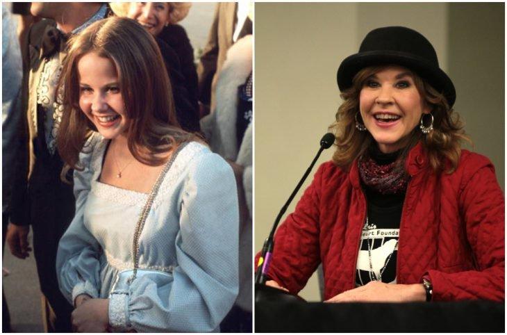 Linda Blair de niña y adulta