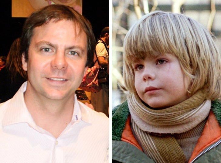 Justin Henry de niño y de adulto