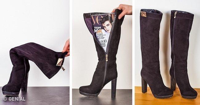 13Consejos geniales para mantener tus zapatos como nuevos