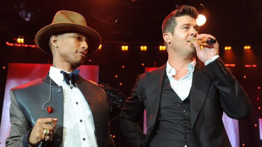Robin Thicke y Pharrel Williams