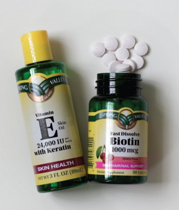 Biotina y Vitamina E