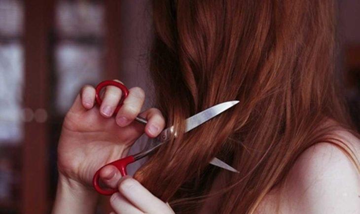 cortando el cabello