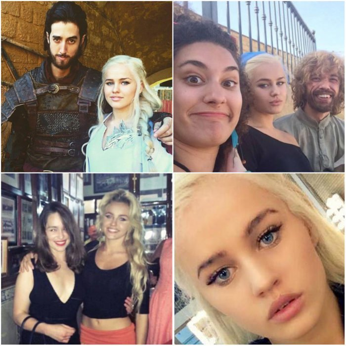 Rosie Mac, modelo, doble Game of Thrones, Emilia Clarke