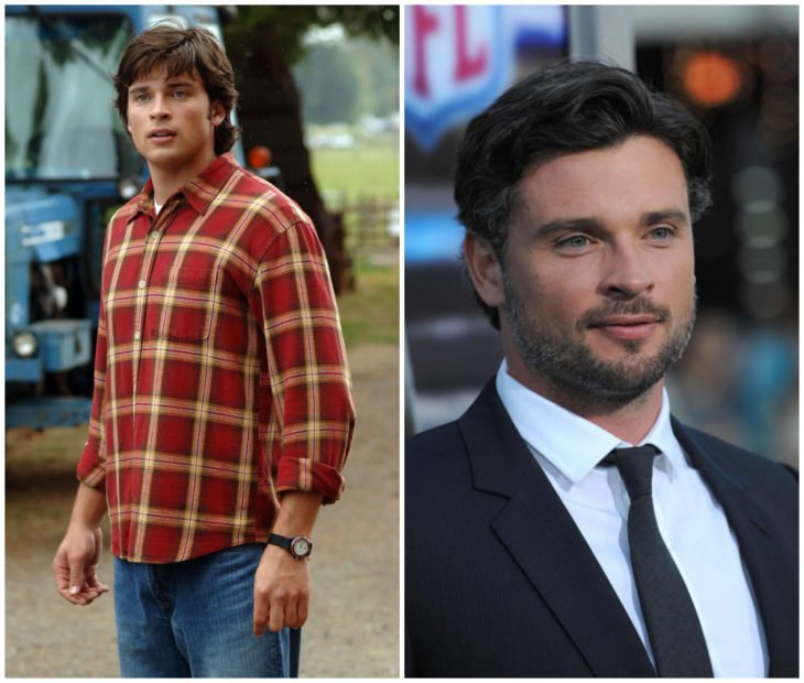 Tom Welling como Superman en Smallville