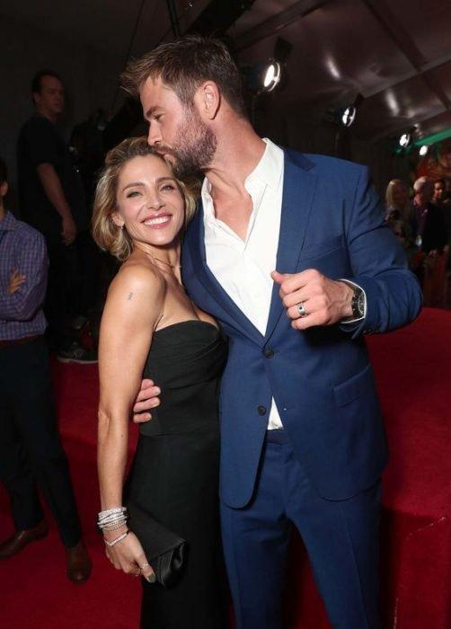 Elsa Pataky y Chris Hemsworth juntos en alfombra roja