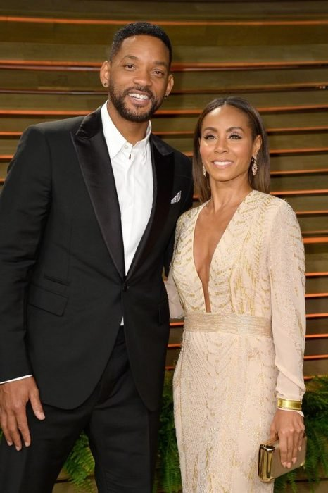 Will Smith junto a su esposa Jada Pinkett