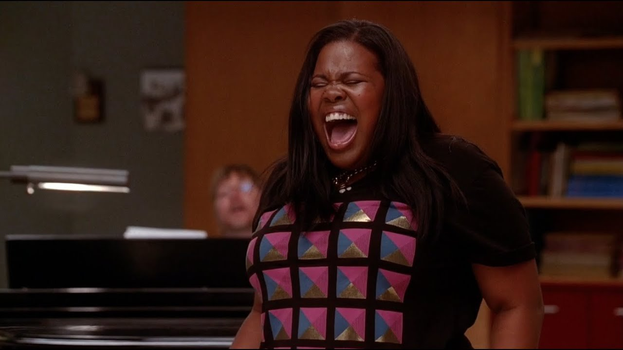 Resultado de imagen de And I Am Telling You I'm Not Going  glee