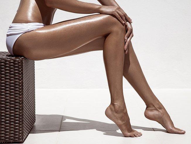 Resultado de imagen de piernas bronceadas