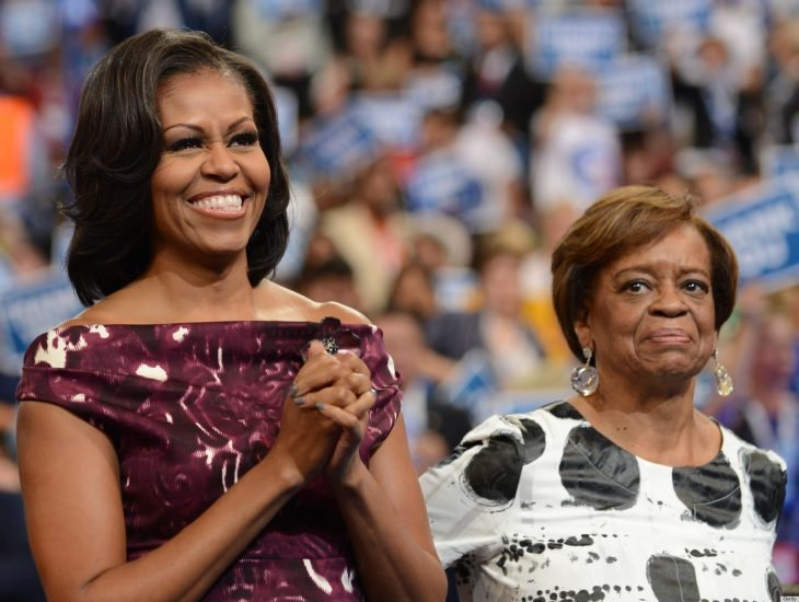 michelle obama y su madre