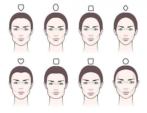 Resultado de imagen de cejas rostro