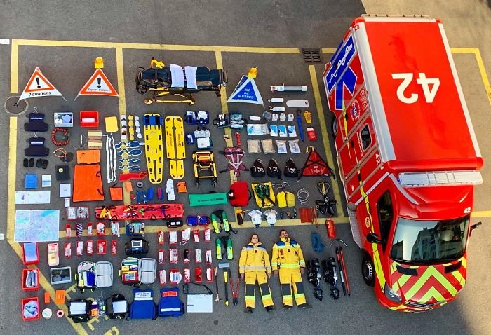 Geneva Fire Department, Switzerland
