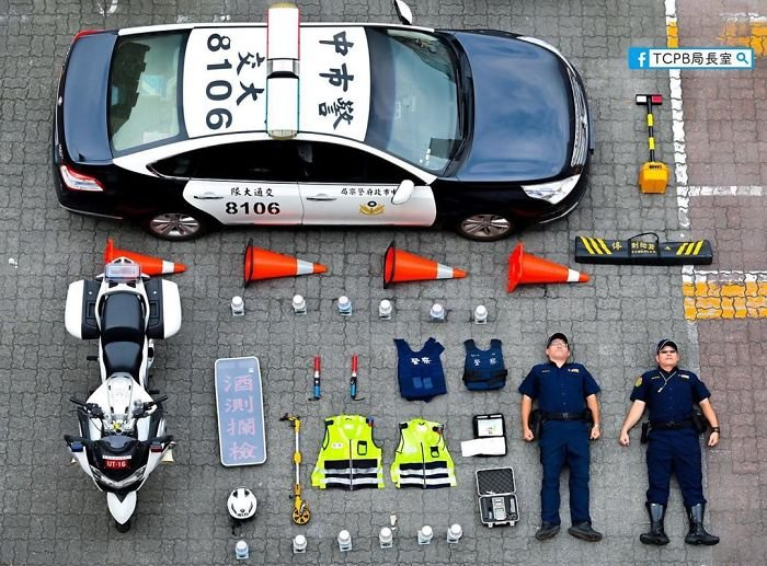 TCPB Police, Taiwan