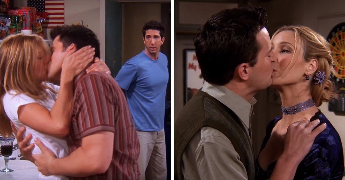 5 101.jpg?resize=412,232 - Los besos más famosos de 'Friends' que jamás podremos olvidar