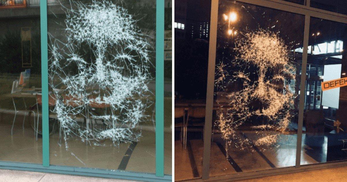 a 13.jpg?resize=1200,630 - An Artist Created An Unbelievable Portrait By Breaking Glass In Certain Spots
