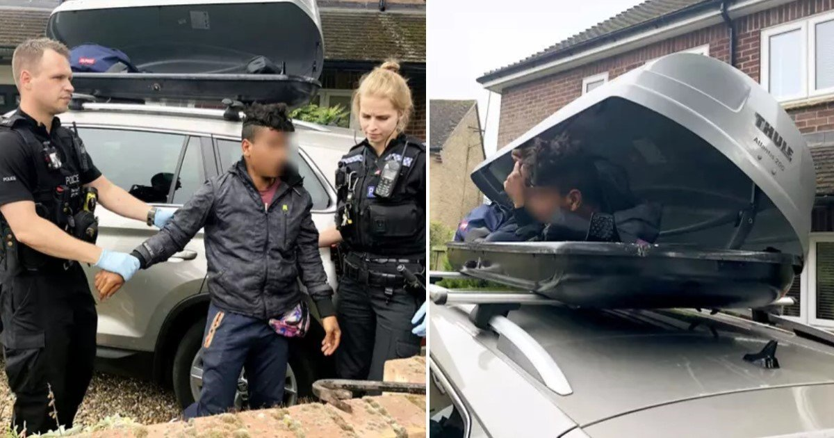 a 49.jpg?resize=412,232 - Couple Baffled To Find A Teen Hiding In Their Vehicle's Roof Box As They Returned Home From A Holiday