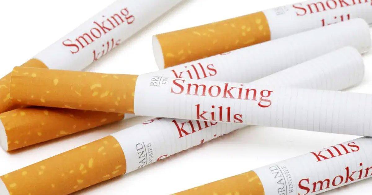 a new study suggested printing smoking kills on individual cigarettes could help people quit the habit.jpg?resize=300,169 - Inscrire «fumer tue» sur des cigarettes individuelles pourrait aider les fumeurs à cesser de fumer, selon des chercheurs
