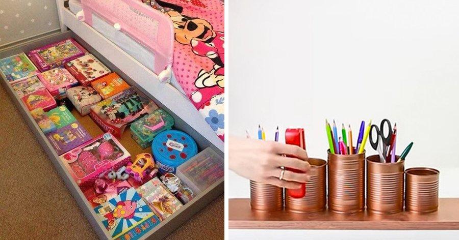 a5 4.jpg?resize=1200,630 - 10+ Dicas de como organizar a bagunça das crianças com criatividade e usando itens econômicos