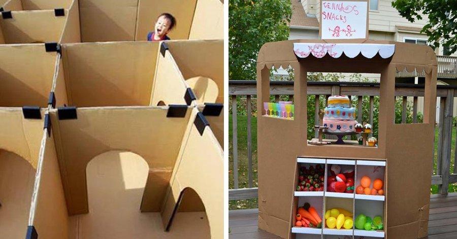 a5 6.jpg?resize=412,275 - 27 Ideias que utilizam caixas de papelão para criar atividades e brincadeiras para as crianças