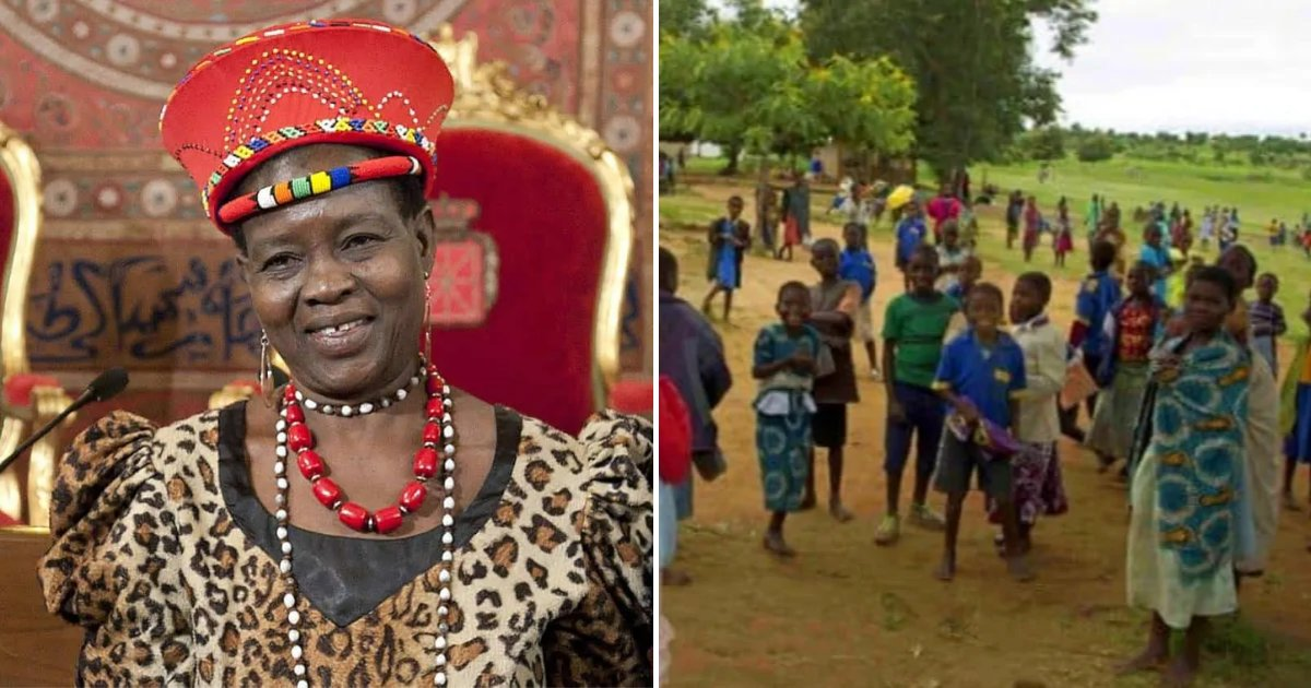 chief5.png?resize=1200,630 - Woman Becomes Chief Of African Town And Immediately Annuls More Than 800 Child Marriages