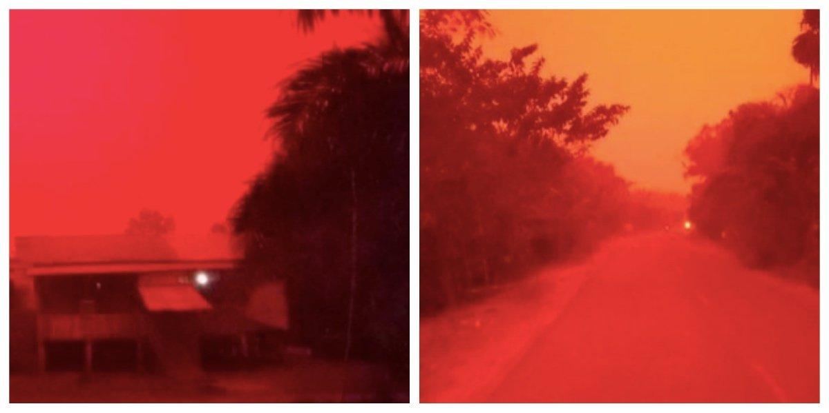 collage fotor 30.jpg?resize=1200,630 - 空が真っ赤に!!血の空と呼ばれた真っ赤な空、その衝撃の原因とは??