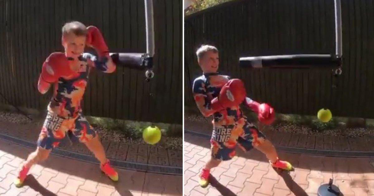 d3 6.png?resize=412,232 - Un enfant montre ses fantastiques talents de boxeur