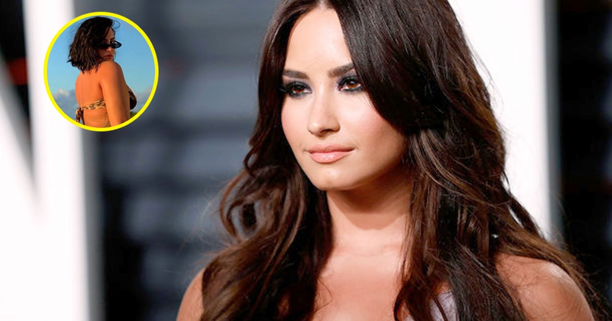 demi lovato shared unedited bikini picture of herself and said she is not ashamed of her body.jpg?resize=1200,630 - Demi Lovato Shared An Unedited Bikini Picture Of Herself With An Inspiring Message