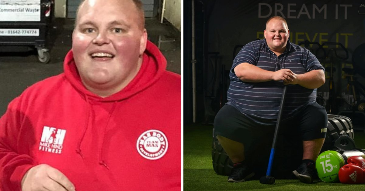 dibsy7.png?resize=1200,630 - Man Banned From Takeaways Because Of His Weight, He Changed His Lifestyle And Shed Some Pounds