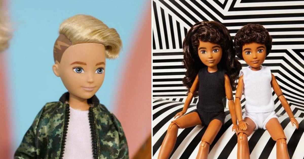 dolls6.png?resize=1200,630 - Toy Company Mattel Released Gender-Neutral Dolls To 'Meet Demand From Children'