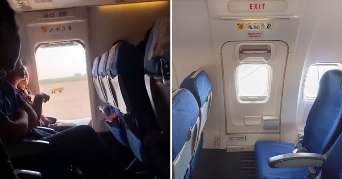 door5.png?resize=1200,630 - Female Passenger Opens Airplane's Emergency Door Because She Wanted Some 'Fresh Air'
