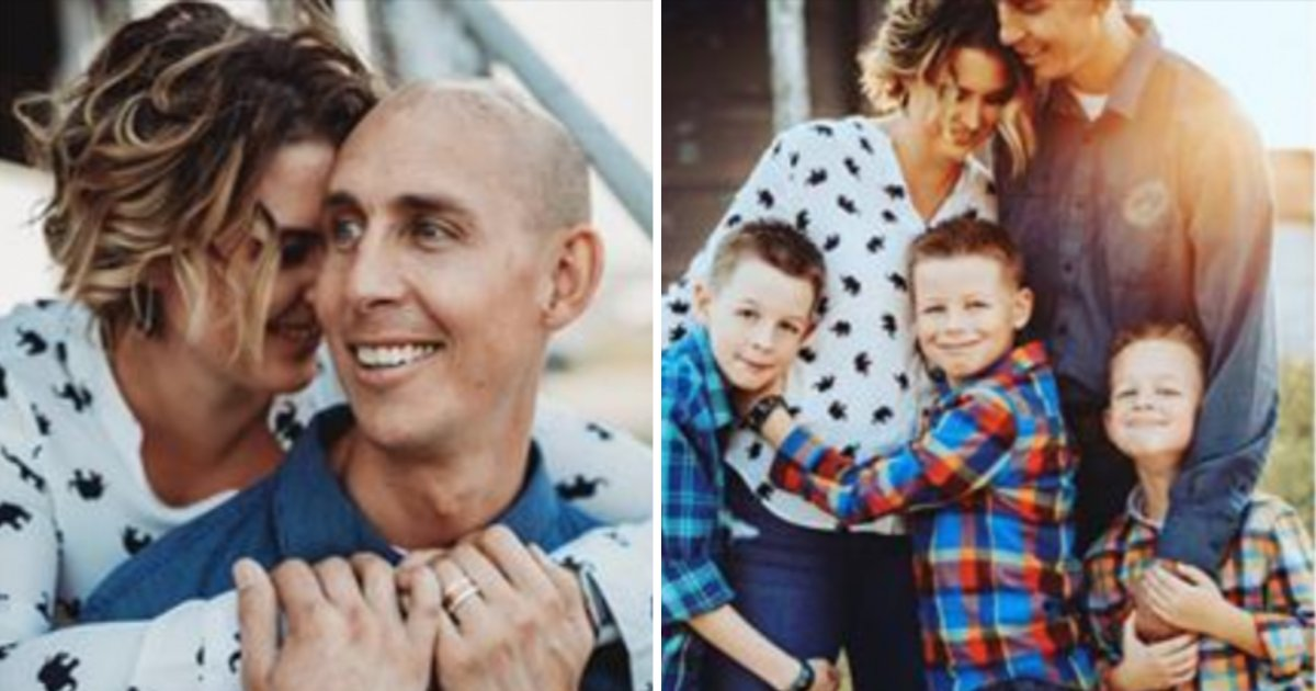 family6.png?resize=412,232 - Family Said Goodbye To Father Diagnosed With Cancer Only Weeks After Finding Out Wife Was Pregnant