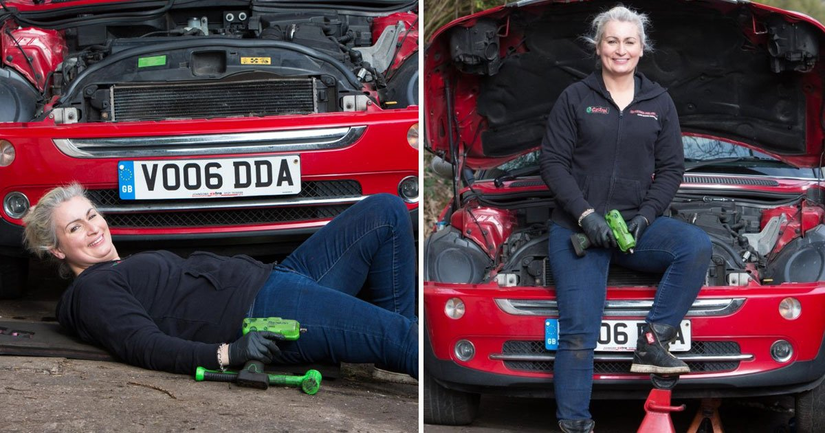 female mechanic womanic.jpg?resize=412,232 - Female Mechanic Encouraging Women To Get Into The Male-Dominated Profession
