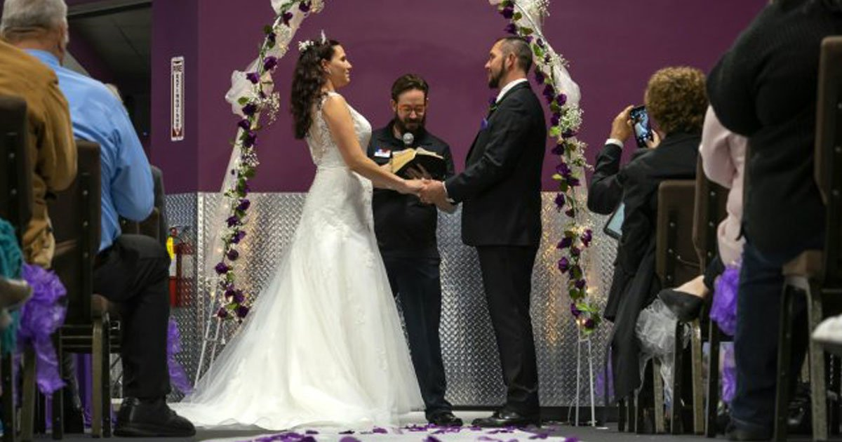 fromer drug addicts got married.jpg?resize=1200,630 - Former Drug Addicts Tied The Knot In Their Gym After Embracing A Healthy Lifestyle