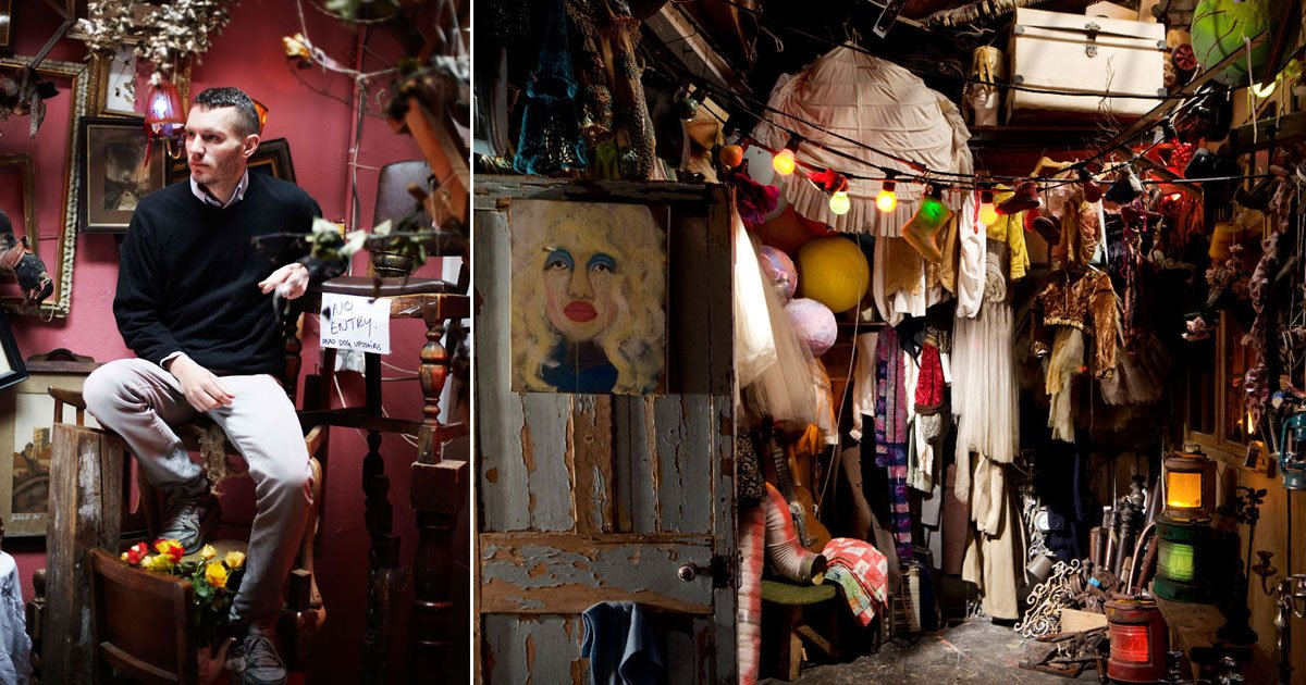 garage home tony hornecker.jpg?resize=412,232 - An Artist Has Turned A Garage Into A Quirky Home In London