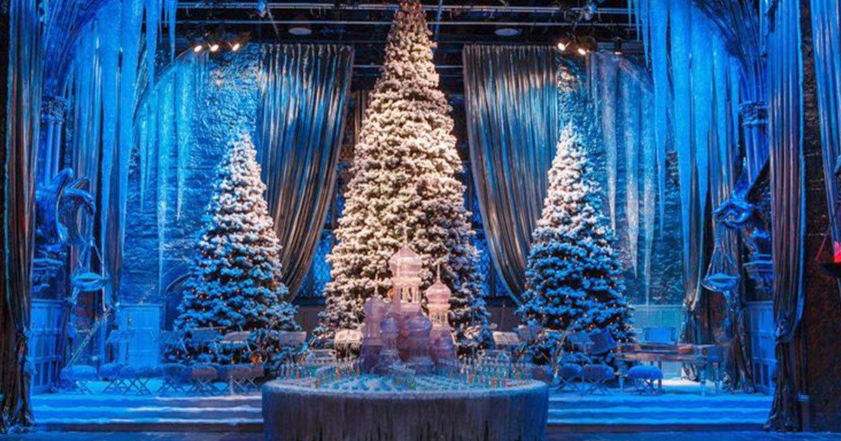 harry potter fans can have christmas dinner in hogwarts great hall again this year.jpg?resize=300,169 - Fans de Harry Potter : Pour Noël un dîner dans le grand hall de Poudlard sera donner